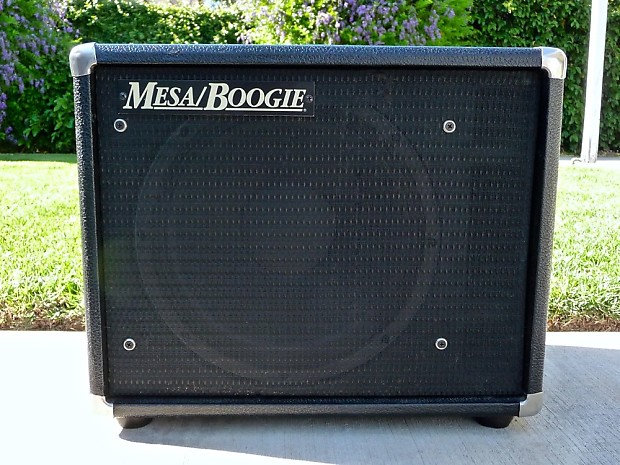 mesa boogie thiele 1x12 guitar cabinet with original 200 watt reverb. Black Bedroom Furniture Sets. Home Design Ideas
