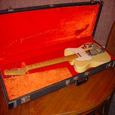 Vintage 1968 Telecaster 100% ALL ORIGINAL w/ Fender Tremolo & OHSC Made In USA image