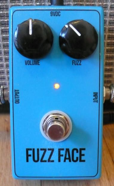 unknown boutique bc108 silicon fuzz face clone guitar effects pedal reverb. Black Bedroom Furniture Sets. Home Design Ideas