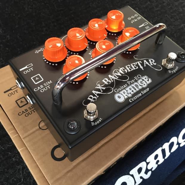 Orange Bax Bangeetar : orange bax bangeetar pre eq guitar effects pedal reverb ~ Hamham.info Haus und Dekorationen
