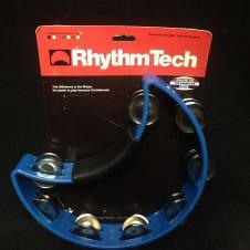 RhythmTech RT1040 Tambourine, Nickel Jingles, Blue * image