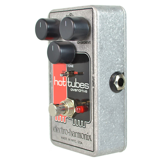 Loud Lighting Contactor: Electro Harmonix HOT TUBES (Nano) Overdrive Pedal