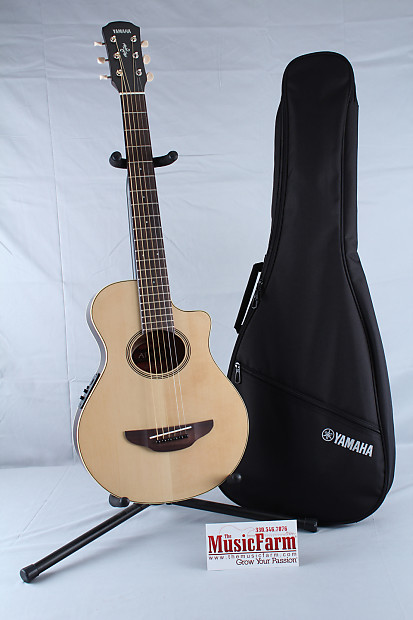 Yamaha apx t2 3 4 size acoustic electric guitar with for 3 4 yamaha acoustic guitar