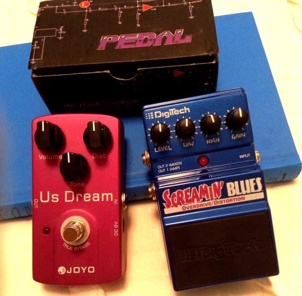 digitech screamin 39 blues joyo us dream pedal lot reverb. Black Bedroom Furniture Sets. Home Design Ideas