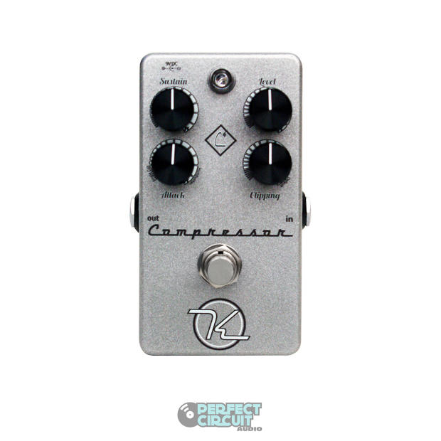 keeley c4 4 knob compressor silver guitar pedal effects demo perfect circuit reverb. Black Bedroom Furniture Sets. Home Design Ideas
