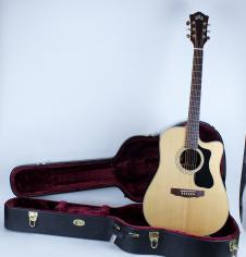 Guild D-150CE  GAD Series  All Solid Wood Acoustic-Electric Guitar Original Hard Case MINT! image