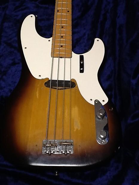 fender precision bass 1957 2 tone sunburst reverb. Black Bedroom Furniture Sets. Home Design Ideas