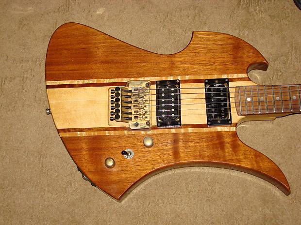 vintage 1992 bc rich mockingbird electric guitar made in the reverb. Black Bedroom Furniture Sets. Home Design Ideas
