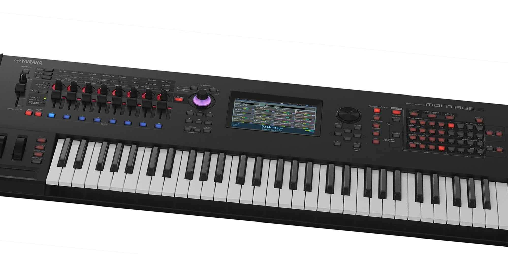 yamaha launches montage synthesizer reverb
