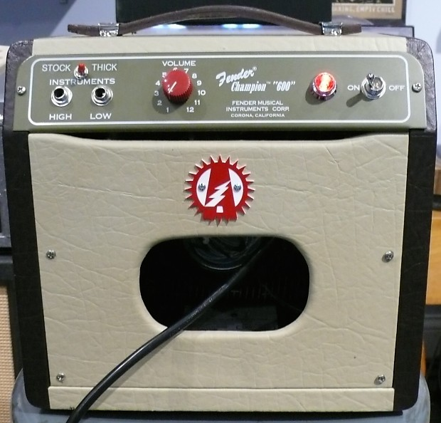 Modify Your Fender Champion 600 Amplifier With Upgrades