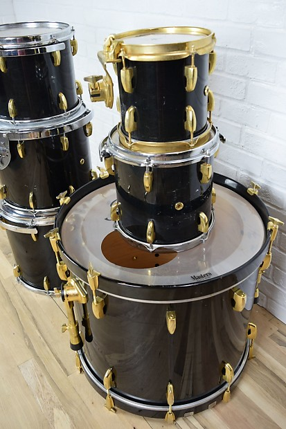 pearl masters custom maple shell 6 piece drum kit reverb. Black Bedroom Furniture Sets. Home Design Ideas
