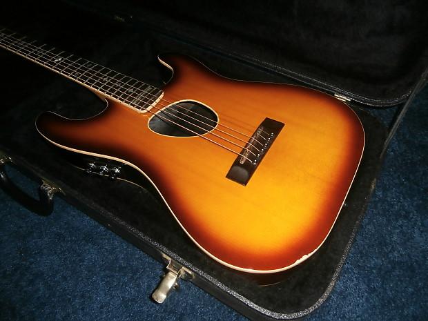 vintage 1980 39 s kramer ferrington acoustic electric guitar w reverb. Black Bedroom Furniture Sets. Home Design Ideas