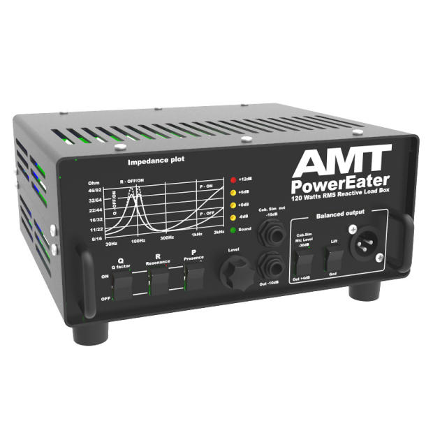 amt electronics pe 120 powereater power eater guitar cabinet simulator loadbox reverb. Black Bedroom Furniture Sets. Home Design Ideas