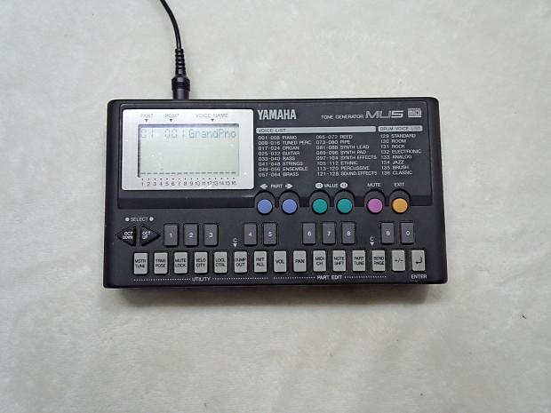 yamaha mu5 midi tone generator reverb