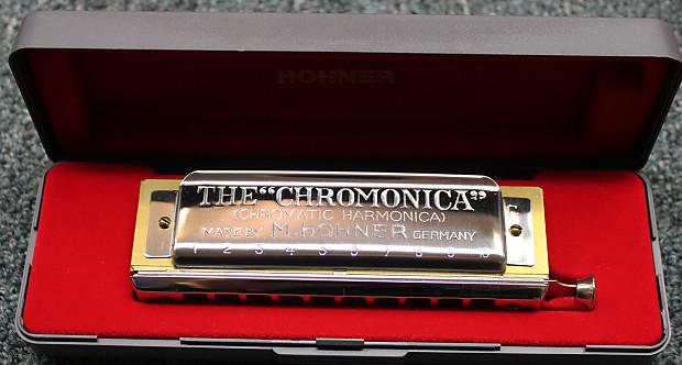 hohner 260 40 chromonica chromatic harmonica w case reverb. Black Bedroom Furniture Sets. Home Design Ideas