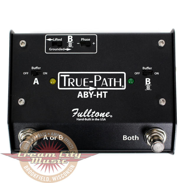 brand new fulltone true path aby ht box signal split guitar effect pedal reverb. Black Bedroom Furniture Sets. Home Design Ideas