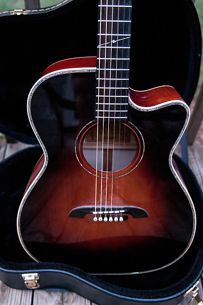 Alvarez Yairi Wy1ts Yairi Stage Om Folk Acoustic Electric