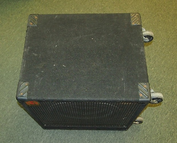 eden d115xlt 1x15 bass cab cabinet made in the usa with reverb. Black Bedroom Furniture Sets. Home Design Ideas