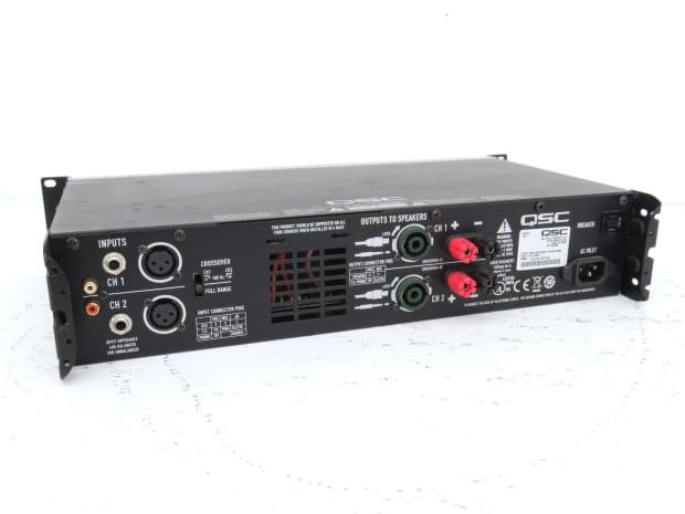 qsc gx5 power amp reverb