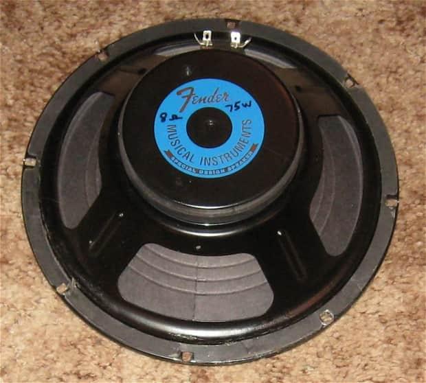 Fender Eminence Quot Special Design Quot 10 Quot 75w Rms 8 Ohm Speaker