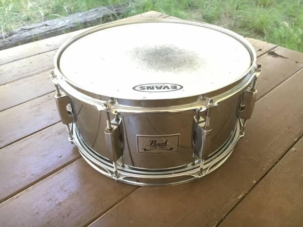 Pearl Steel Shell Snare : pearl steel shell snare drum 14x6 5 xlnt cond reverb ~ Russianpoet.info Haus und Dekorationen