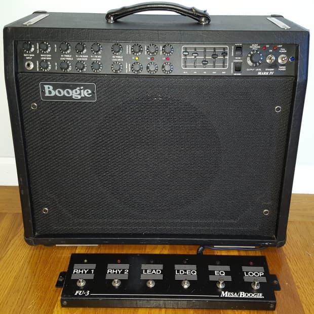mesa boogie mark iv widebody combo guitar amplifier 85w amp reverb. Black Bedroom Furniture Sets. Home Design Ideas