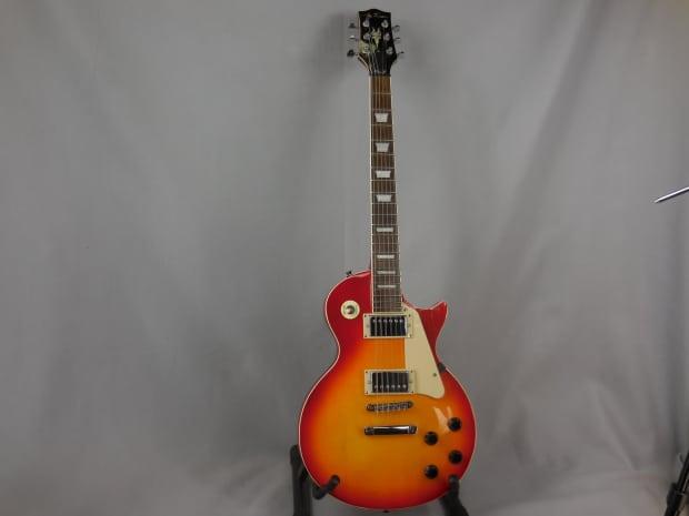 jay turser jt 220 cherry sunburst guitar les paul copy free reverb. Black Bedroom Furniture Sets. Home Design Ideas