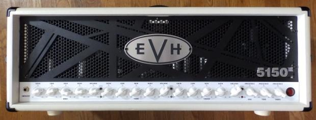 evh 5150 iii 100w head ivory with footswitch reverb. Black Bedroom Furniture Sets. Home Design Ideas