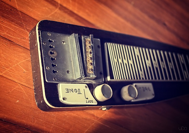 1960 Teisco EG-DW (Or Thereabout) Lap Steel Slide Electric ...