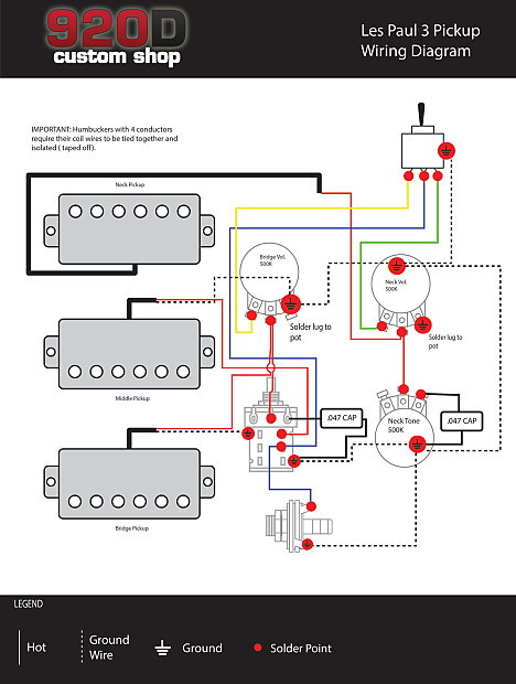 les paul 50s wiring diagram gibson les paul black beauty 3 pickup wiring harness ... les paul pickup wiring diagram two volume 3