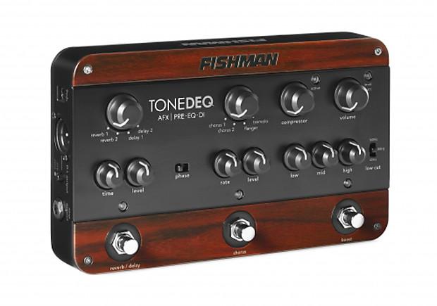 fishman tonedeq acoustic guitar preamp eq di pedal reverb. Black Bedroom Furniture Sets. Home Design Ideas