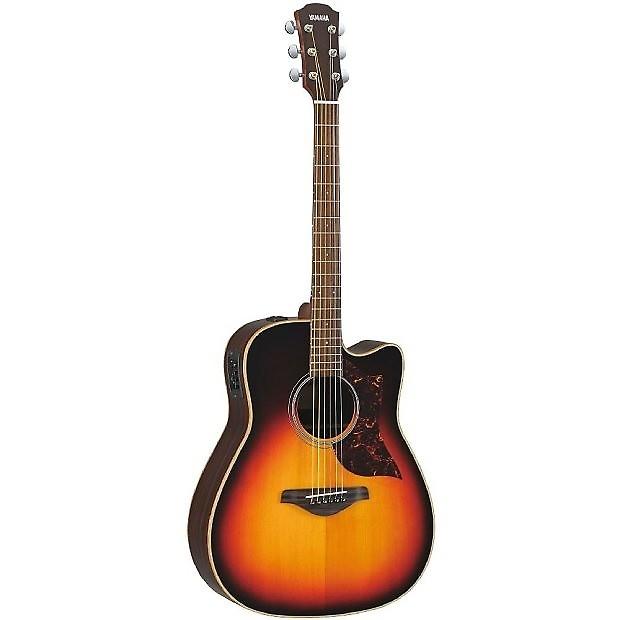 yamaha a1r vs vintage sunburst acoustic electric guitar