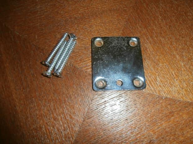 vintage 1981 peavey t 15 neck plate w screws t 25 t 26 reverb