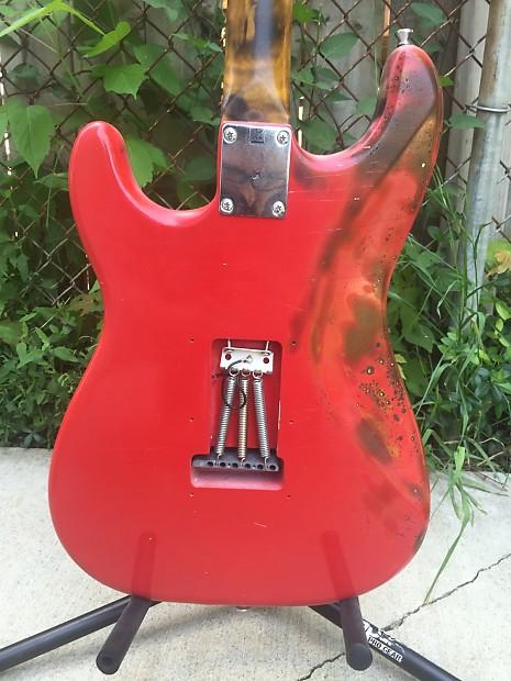 Nicholas Lee Custom Shop Stratocaster Monterey Pop Custom