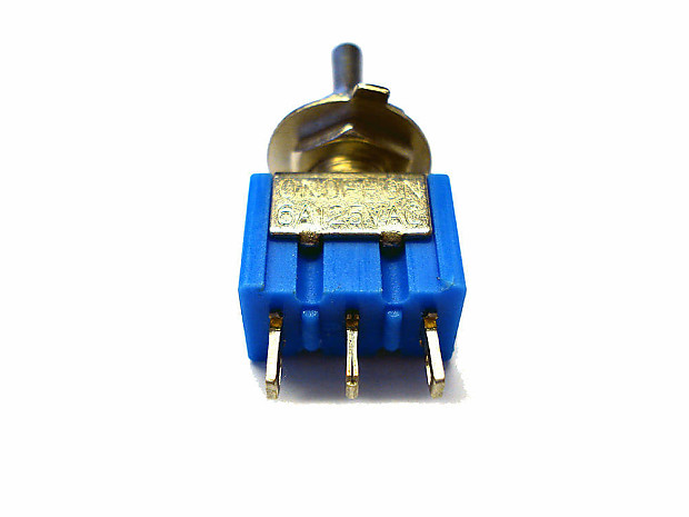 On Off On Spst Toggle Switch Guitar Electrics Upgrade St Tl | Reverb