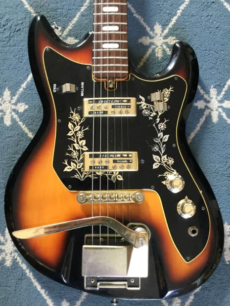 teisco del rey et 220 spectrum electric guitar 1960 39 s reverb. Black Bedroom Furniture Sets. Home Design Ideas