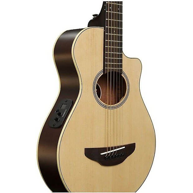 Yamaha apxt2nt 3 4 size acoustic electric guitar natural for 3 4 yamaha acoustic guitar
