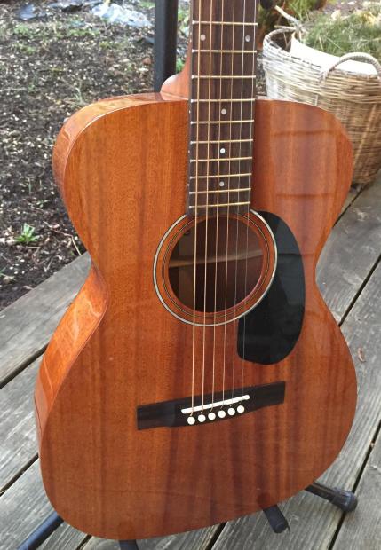guild gad m120e acoustic guitar with original hard shell case reverb. Black Bedroom Furniture Sets. Home Design Ideas