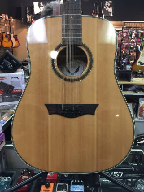 beautiful solid sitka spruce top dean nsd 12 gn 12 string reverb. Black Bedroom Furniture Sets. Home Design Ideas