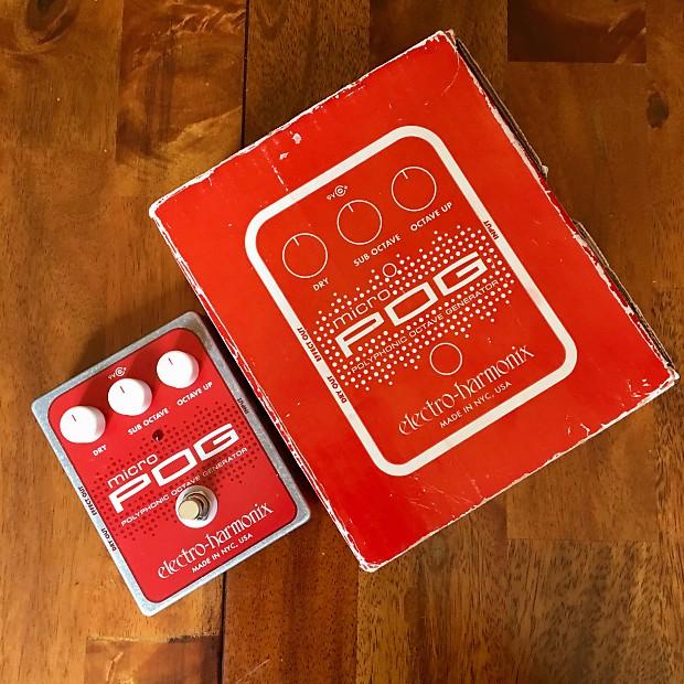 electro harmonix micro pog with original box and power reverb. Black Bedroom Furniture Sets. Home Design Ideas