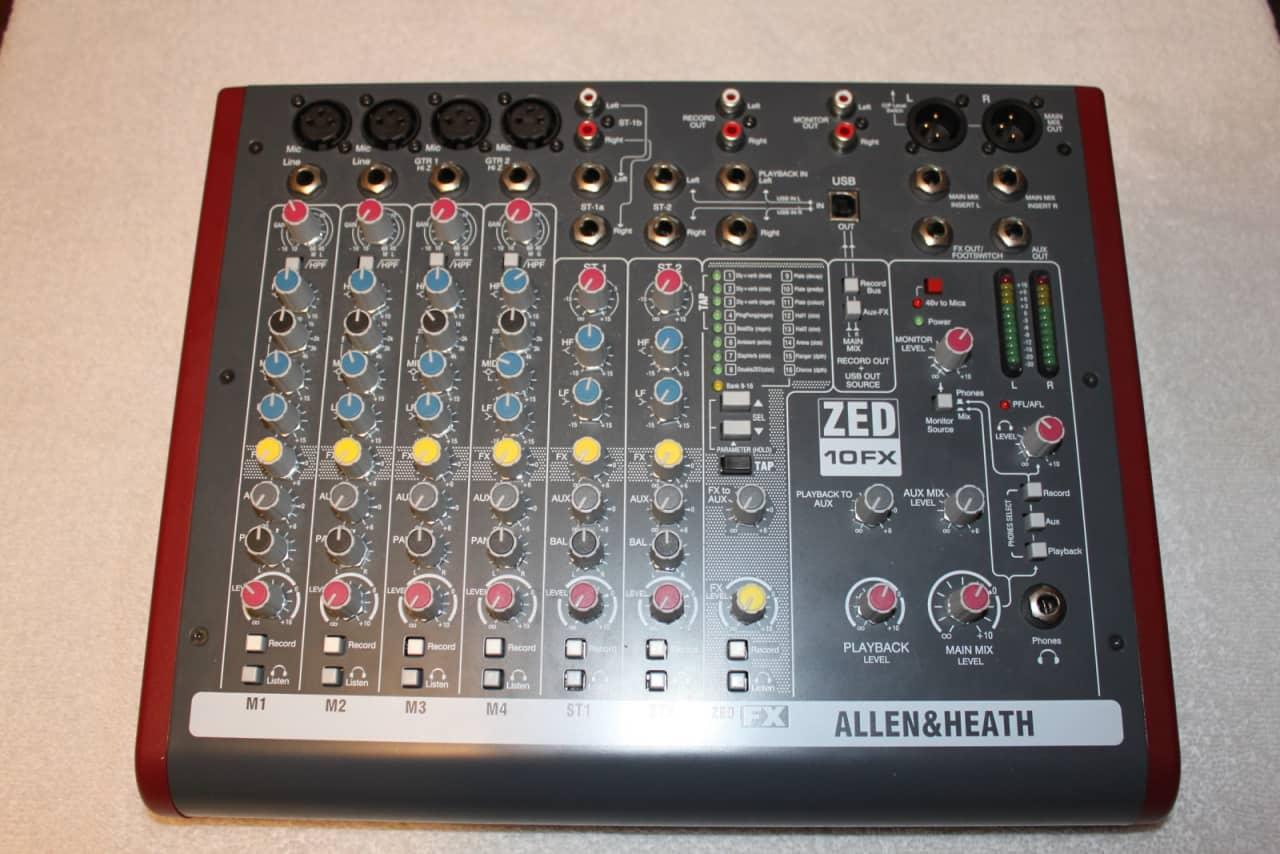 Allen & Heath ZEDi10FX