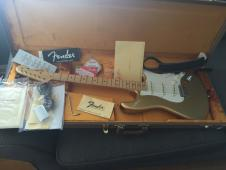 Fender American Vintage '59 1959 Stratocaster Aztec Gold Limited Edition image