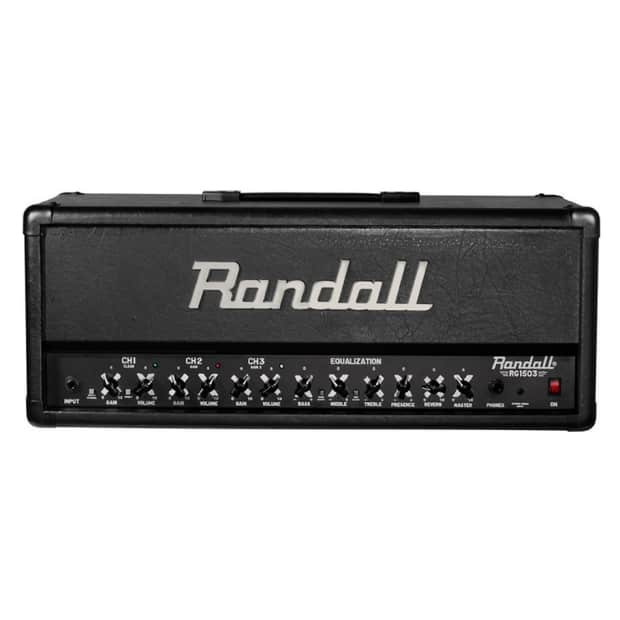 randall rg1503h 3 channel 150w high gain fet solid state reverb. Black Bedroom Furniture Sets. Home Design Ideas