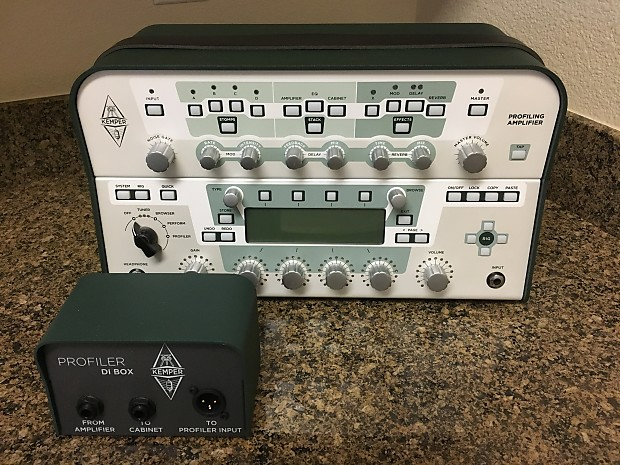 kemper profiler amp head with camplifier 360 stereo power reverb. Black Bedroom Furniture Sets. Home Design Ideas