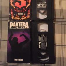 Pantera VHS Cowboys From Hell And Pantera 3 image
