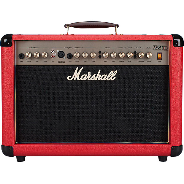 marshall as50dr u 50w 2x8 acoustic soloist portable combo. Black Bedroom Furniture Sets. Home Design Ideas