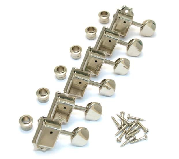 tk 0779 001 gotoh kluson style locking tuners nickel allparts reverb. Black Bedroom Furniture Sets. Home Design Ideas