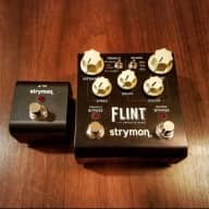 Strymon Flint Reverb & Tremolo 2016 w/ Miniswitch, TRS Cable, and Power Supply