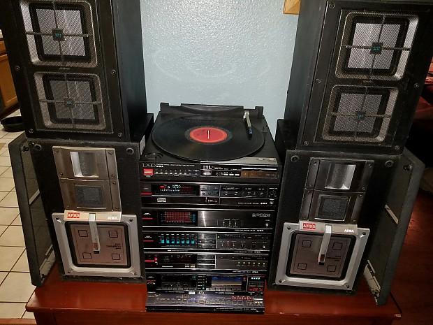 Price Drop Rare Aiwa V 1200 High End Hifi Stereo System