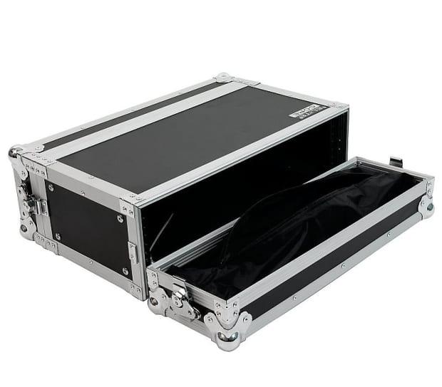 elite core 3 space 10 deep ata rack road case for guitar reverb. Black Bedroom Furniture Sets. Home Design Ideas